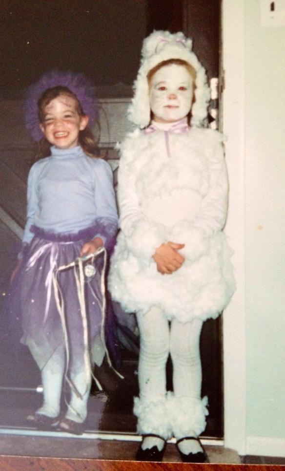 Fairy Maggie & Poodle Sarah