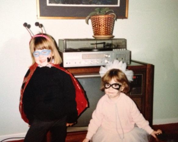 Lady bug Sarah & Fairy Maggie